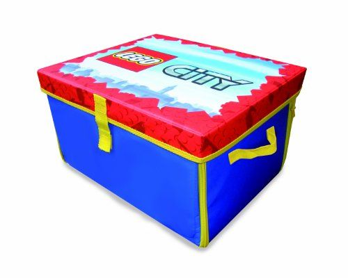 Neat Oh Lego City Zipbin 1000 Brick Medium Toy Box