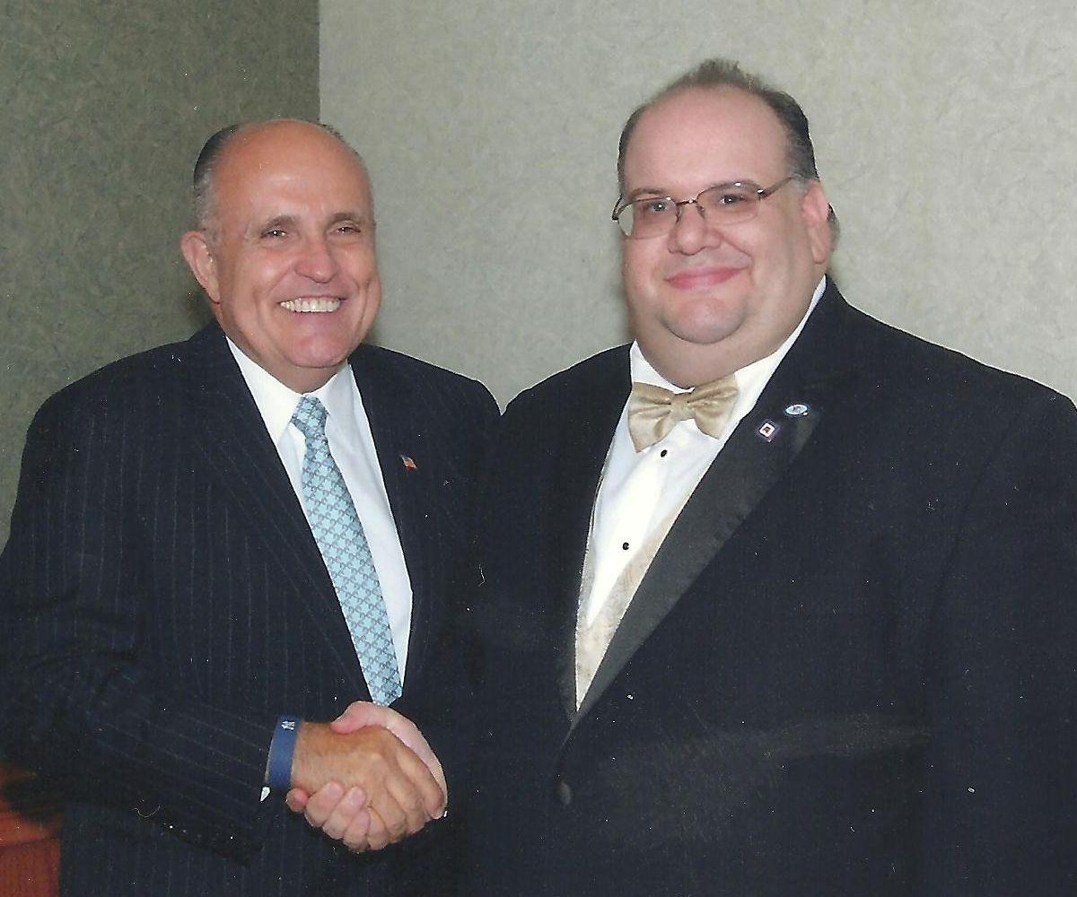 America S Mayor And Fellow Jasper Rudy Giuliani Rudy Giuliani People Historical Figures