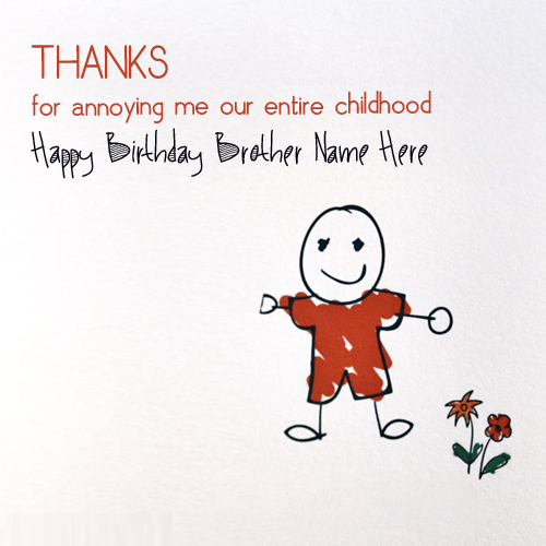 Happy Birthday Cards For Brother Bday Card For Brother Happy