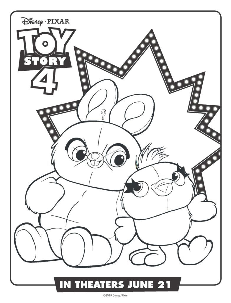 Free Printable Toy Story 4 Coloring Pages And Activities Disegni