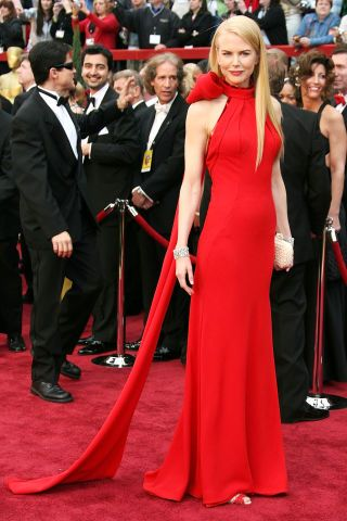 From Valentino red gowns to pailette-embellished confections, BAZAAR selects the 100 best gowns to hit the modern red carpet. Click through to see all of the stunning celebrity looks: Nicole Kidman.