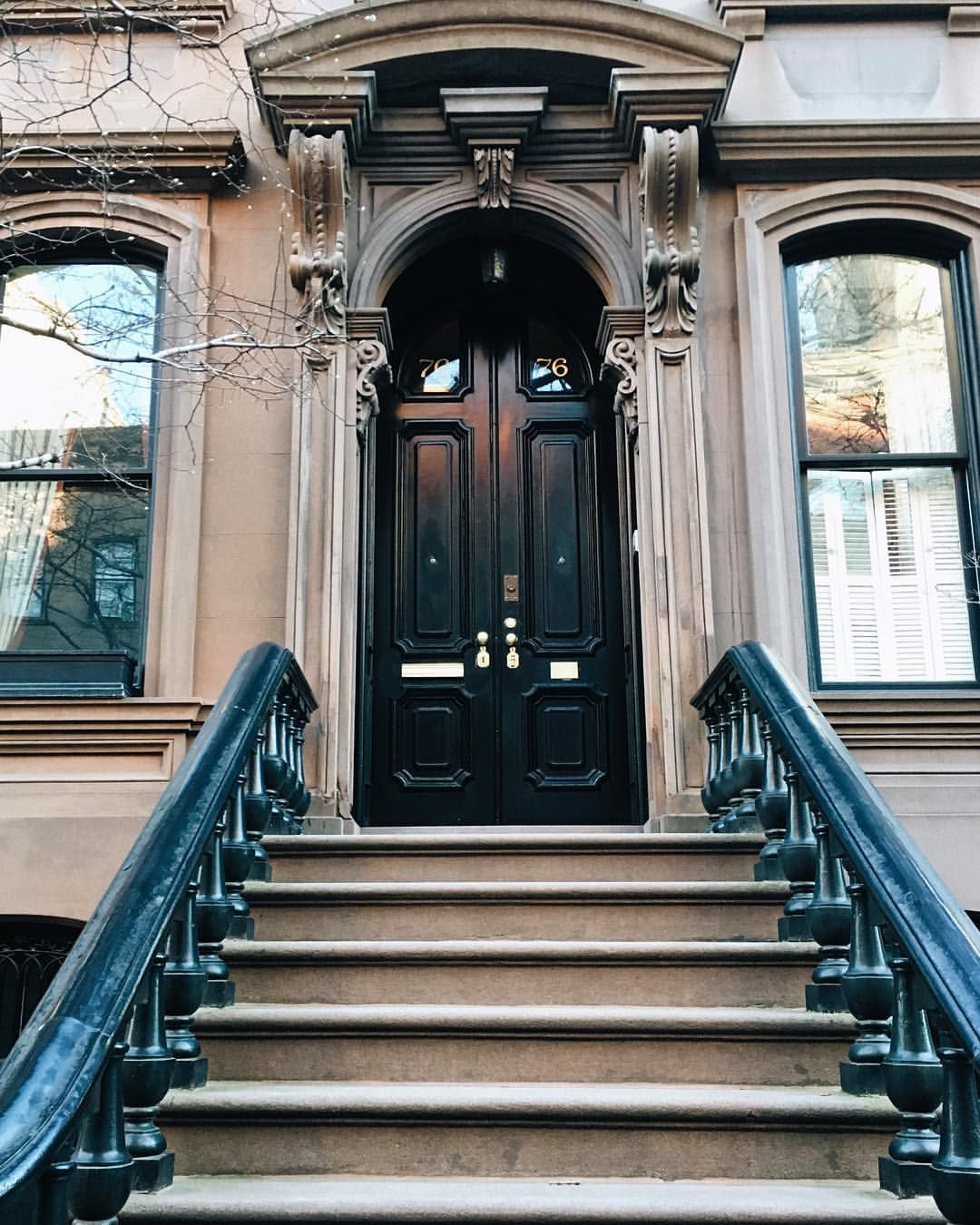 Apartments In Manhatten: New York City Has The Prettiest Brownstones. Major House