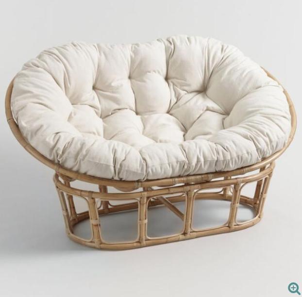 World Market Papasan Chair Cushion Papasan Chair Frame Double Papasan Chair