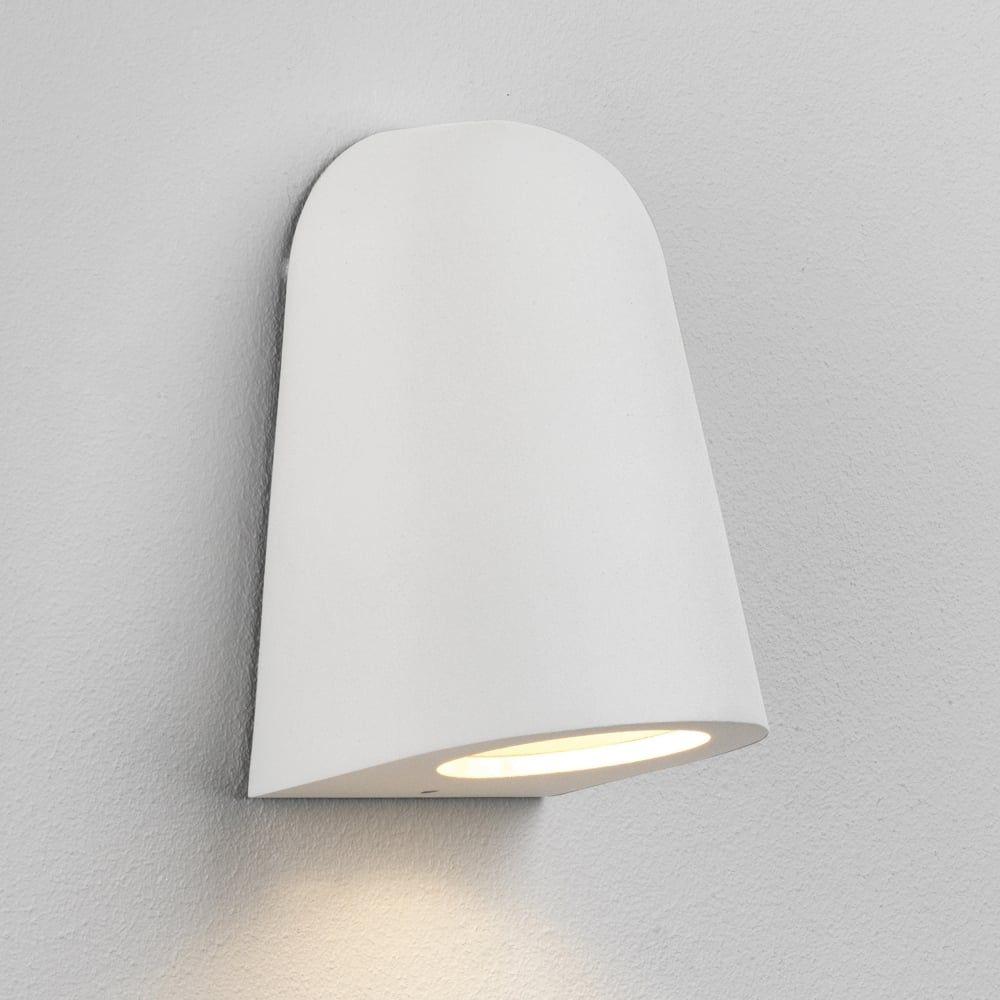 Mast ip65 white exterior wall light hpbathroom pinterest mast ip65 white exterior wall light aloadofball Gallery