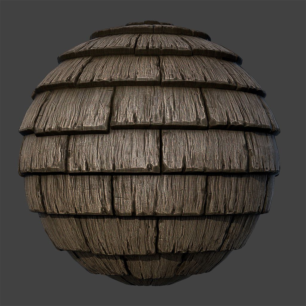 Seamless Wood Roof Texture Pbr Practice 2 Baiquni Abdillah Wood Roof Roof Architecture Bamboo Roof