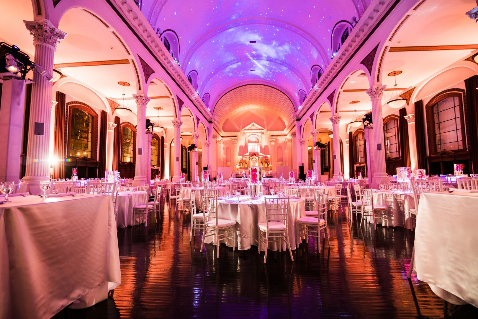 Weddings and Social Events - Vibiana | Reception Décor | Pinterest ...