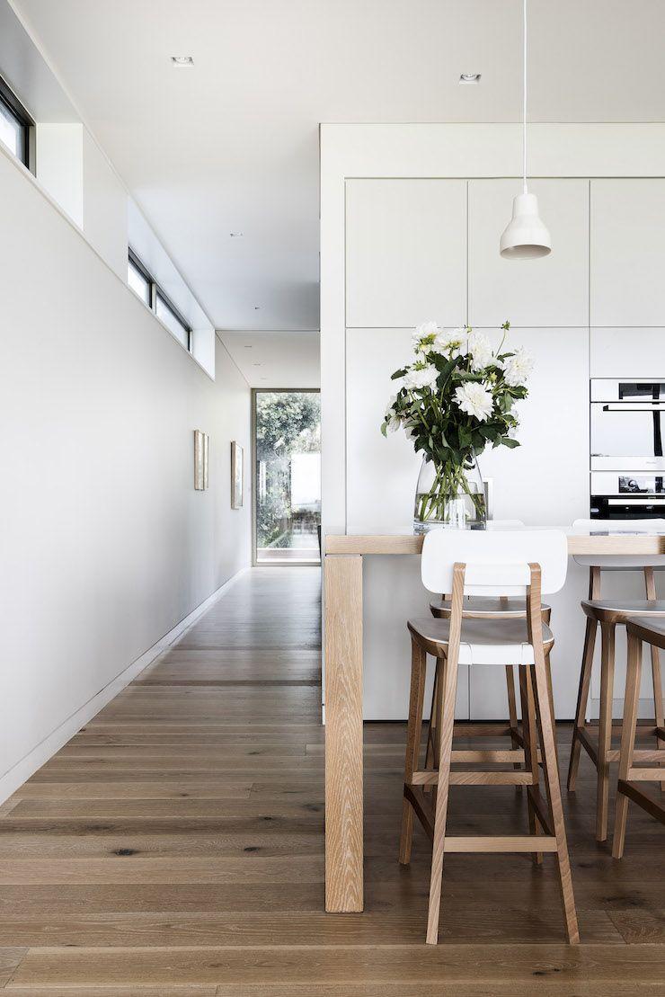 Contemporary Beach House Brett Mickan 3 …  Pinteres… Glamorous Contemporary Kitchen Chairs Design Inspiration