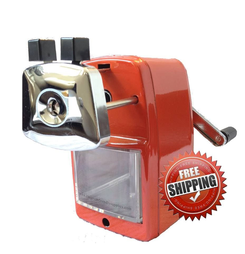 Classroom friendly pencil sharpener review and giveaway