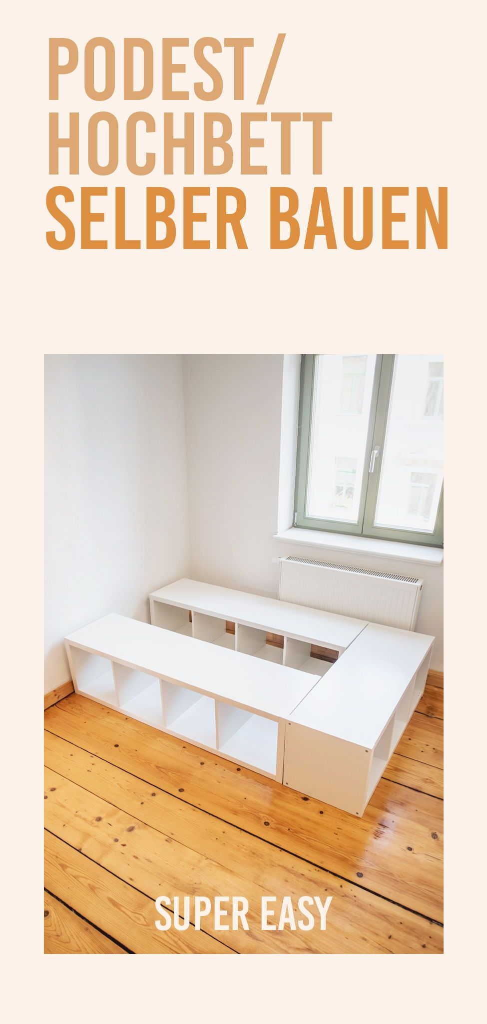 Photo of BUILDING HIGH BED FOR CHILDREN – IKEA HACK