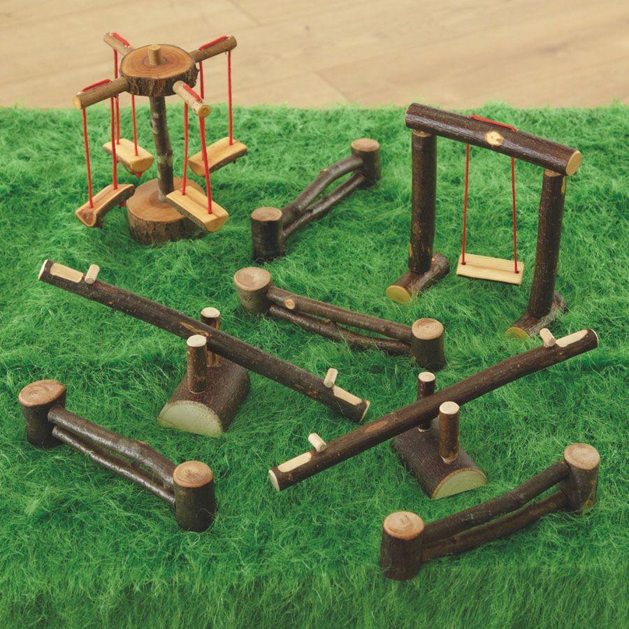 Woodland Playground Set | Mini minis | Pinterest | Miniaturas, Hada ...