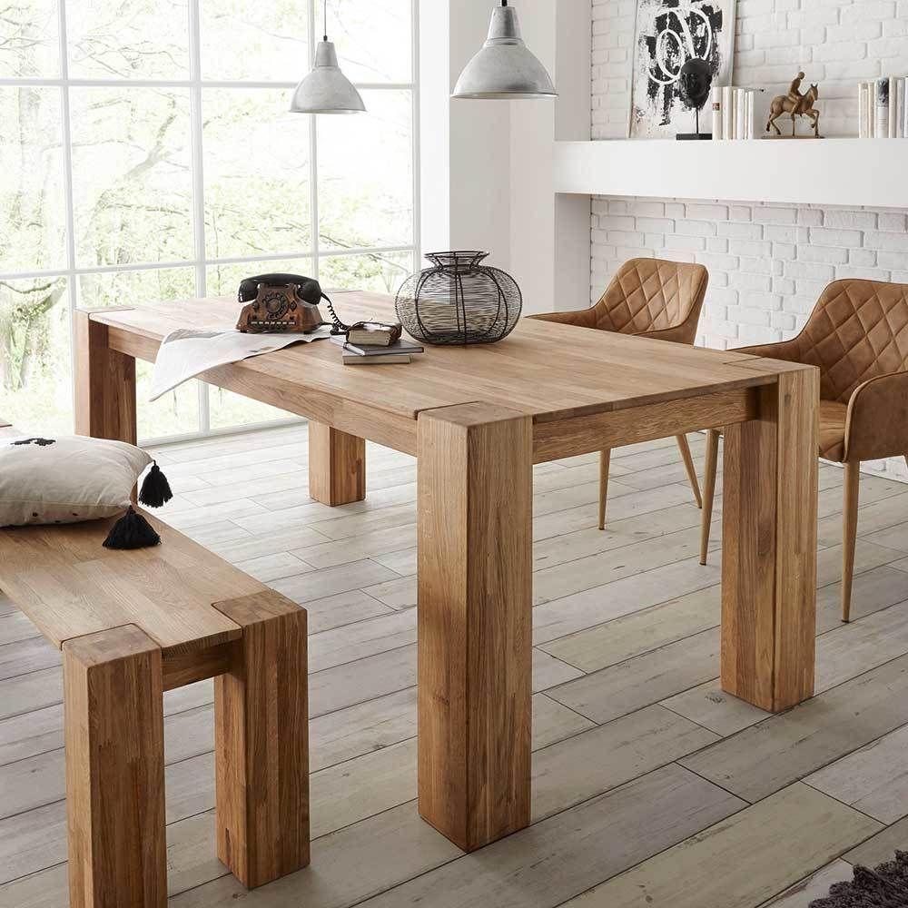 Holztisch Aus Eiche Massivholz 200 Cm Breit Jetzt Bestellen Unter:  Https://moebel.ladendirekt.de/kueche Und Esszimmer/tische/esstische/?uidu003d1be04cb1 6ecb   ...
