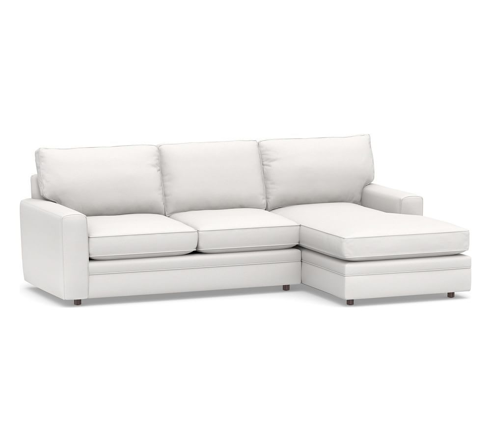 Sensational Pearce Square Arm Upholstered 2 Piece Sectional With Chaise Machost Co Dining Chair Design Ideas Machostcouk