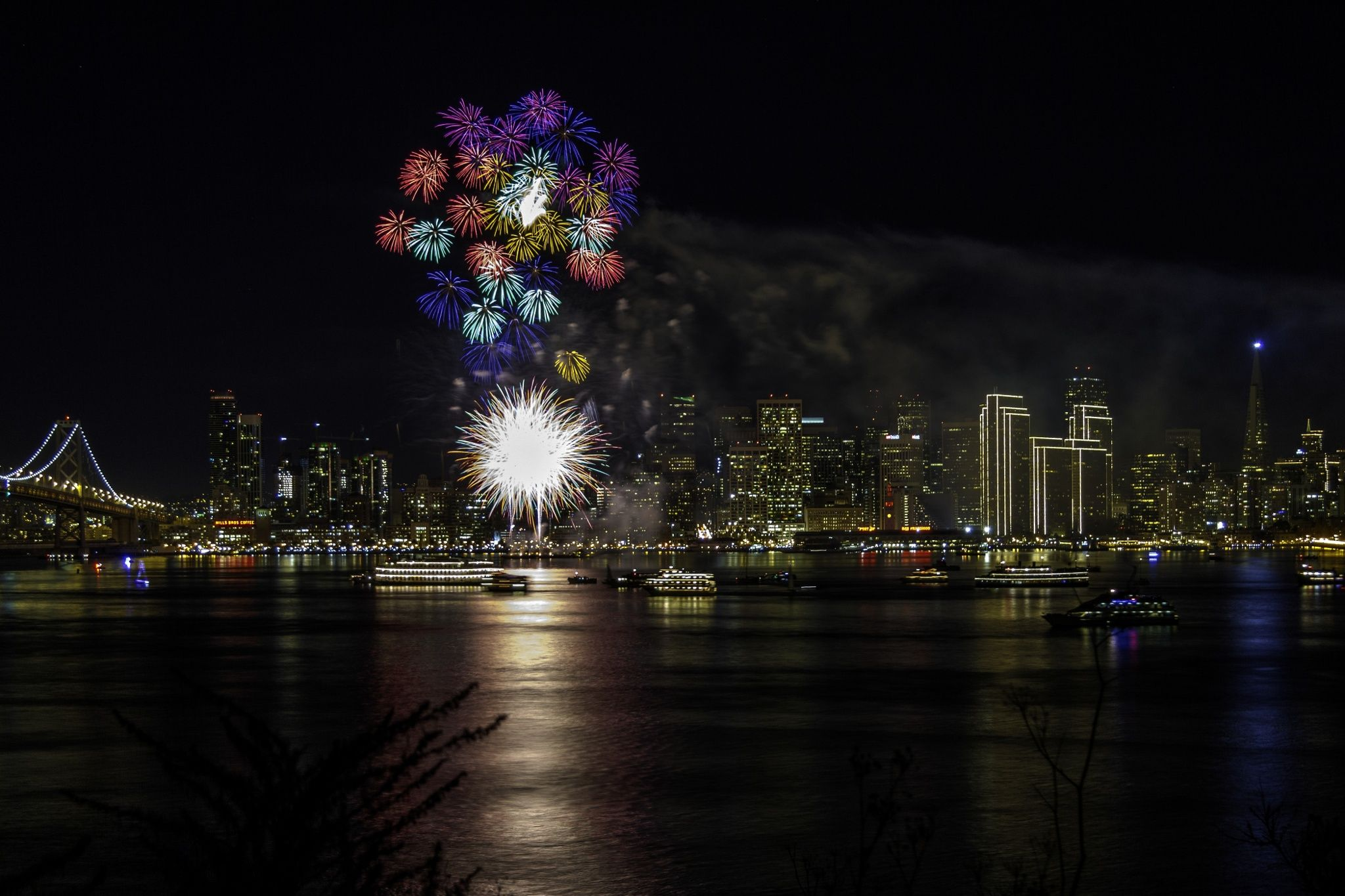 Happy New Year San Francisco by ives87 on 500px