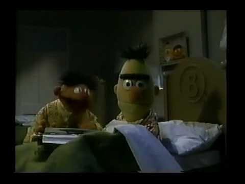 Sesame Street - Ernie types a poem - YouTube | Bert& Ernie