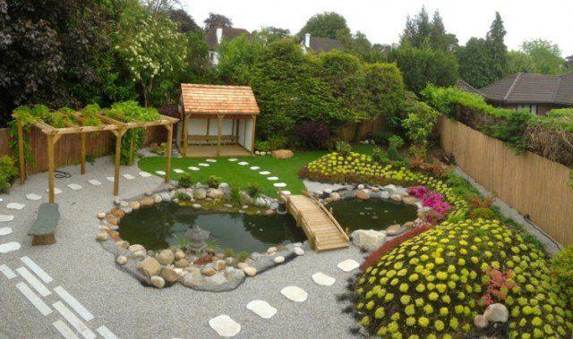 Faire un bassin de jardin 30 idées fantastiques à emprunter! - terrasse bois avec bassin