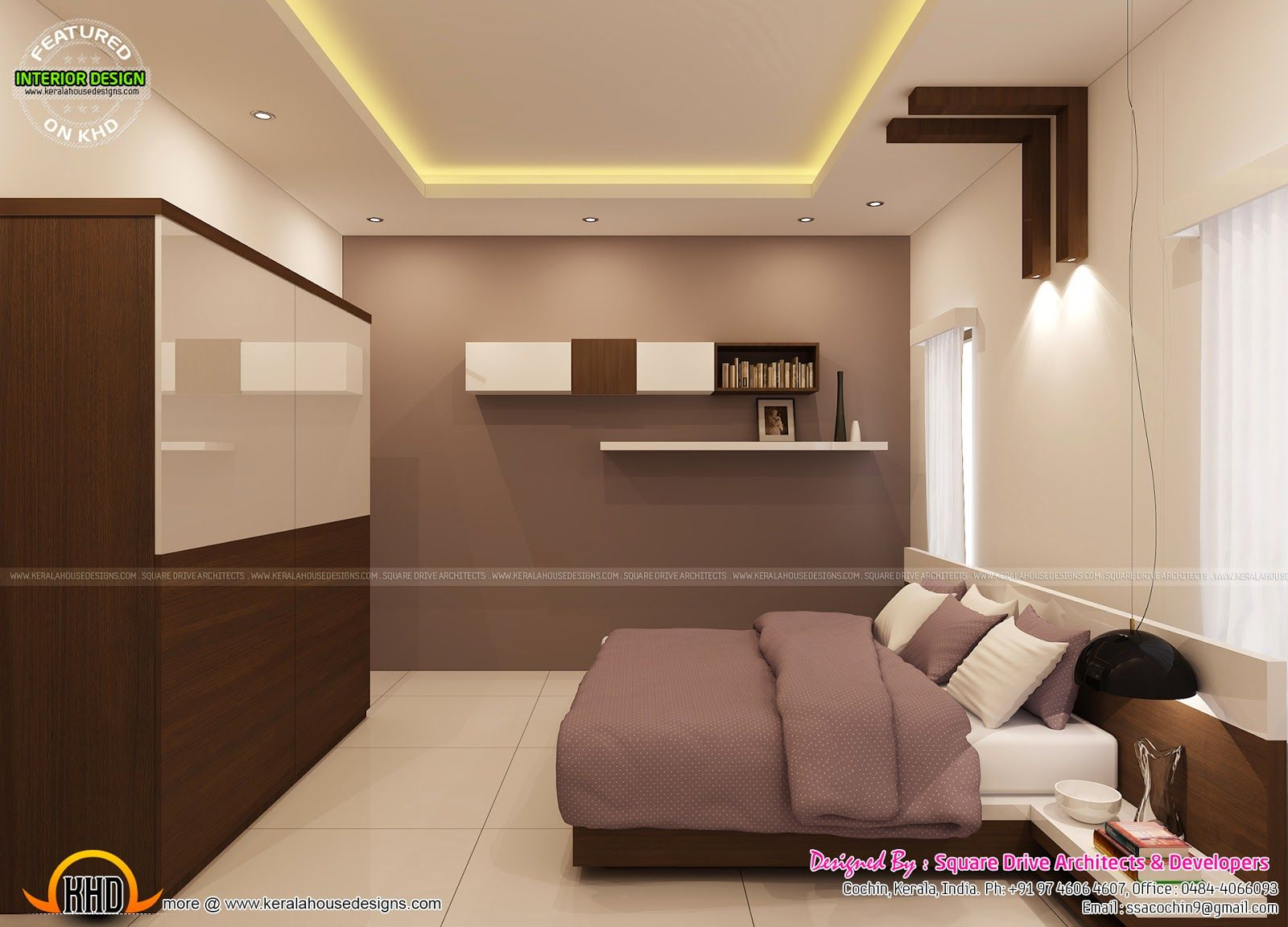 Bedroom Interior Decoration Kerala Home With Images Best
