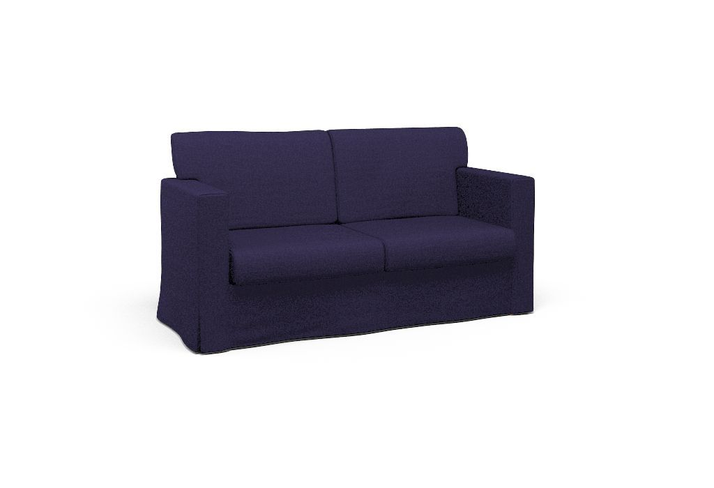 Sensational Cover For Ikea Sandby Two Seat Sofa East Coast Navy Download Free Architecture Designs Parabritishbridgeorg