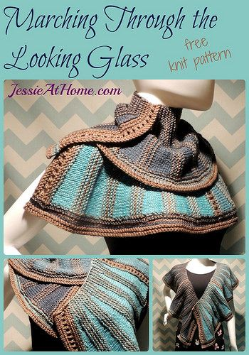 Marching Through the Looking Glass ~ free knit pattern by Jessie At ...