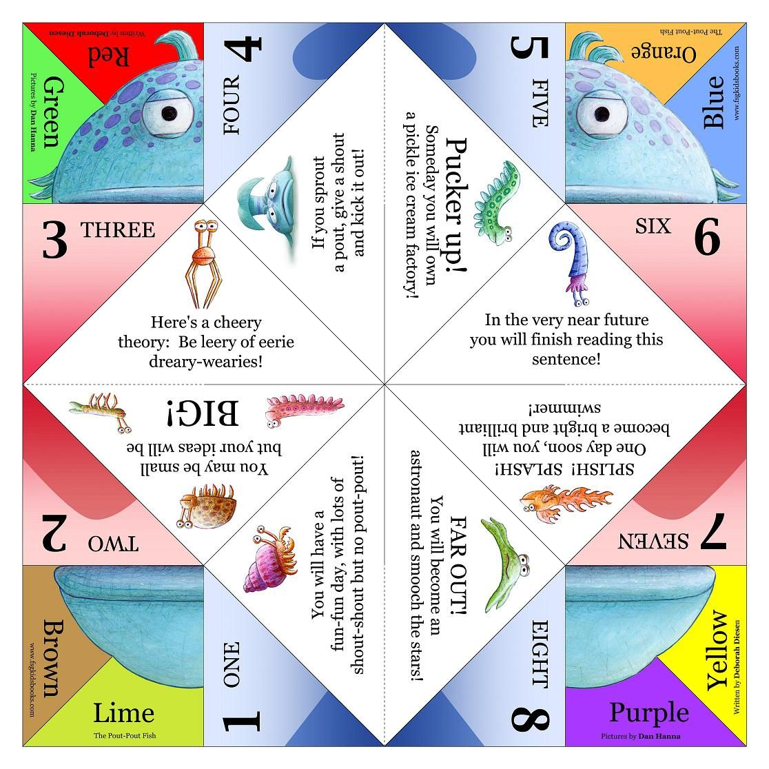 Origami for children 4-5 years: schemes and ideas