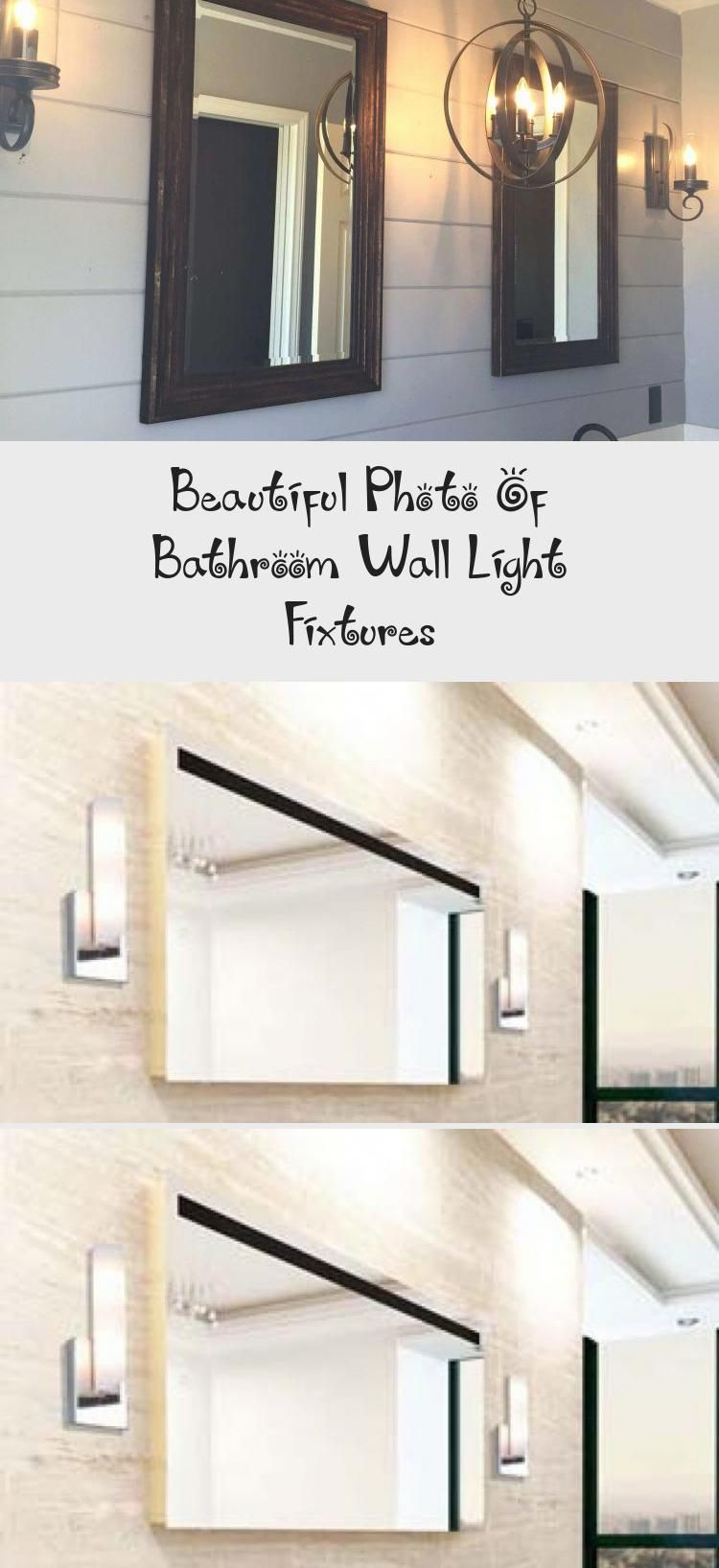 Photo of Beautiful Photo Of Bathroom Wall Light Fixtures – Bathroom