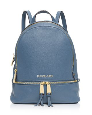 5ddd751b712e MICHAEL Michael Kors Small Rhea Zip Backpack | Bloomingdale's ...