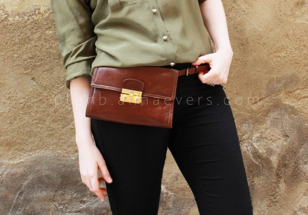 DIY Belt purse (a n n a • e v e r s - DIY Fashion blog » DIY ... a9ffbafe2f116