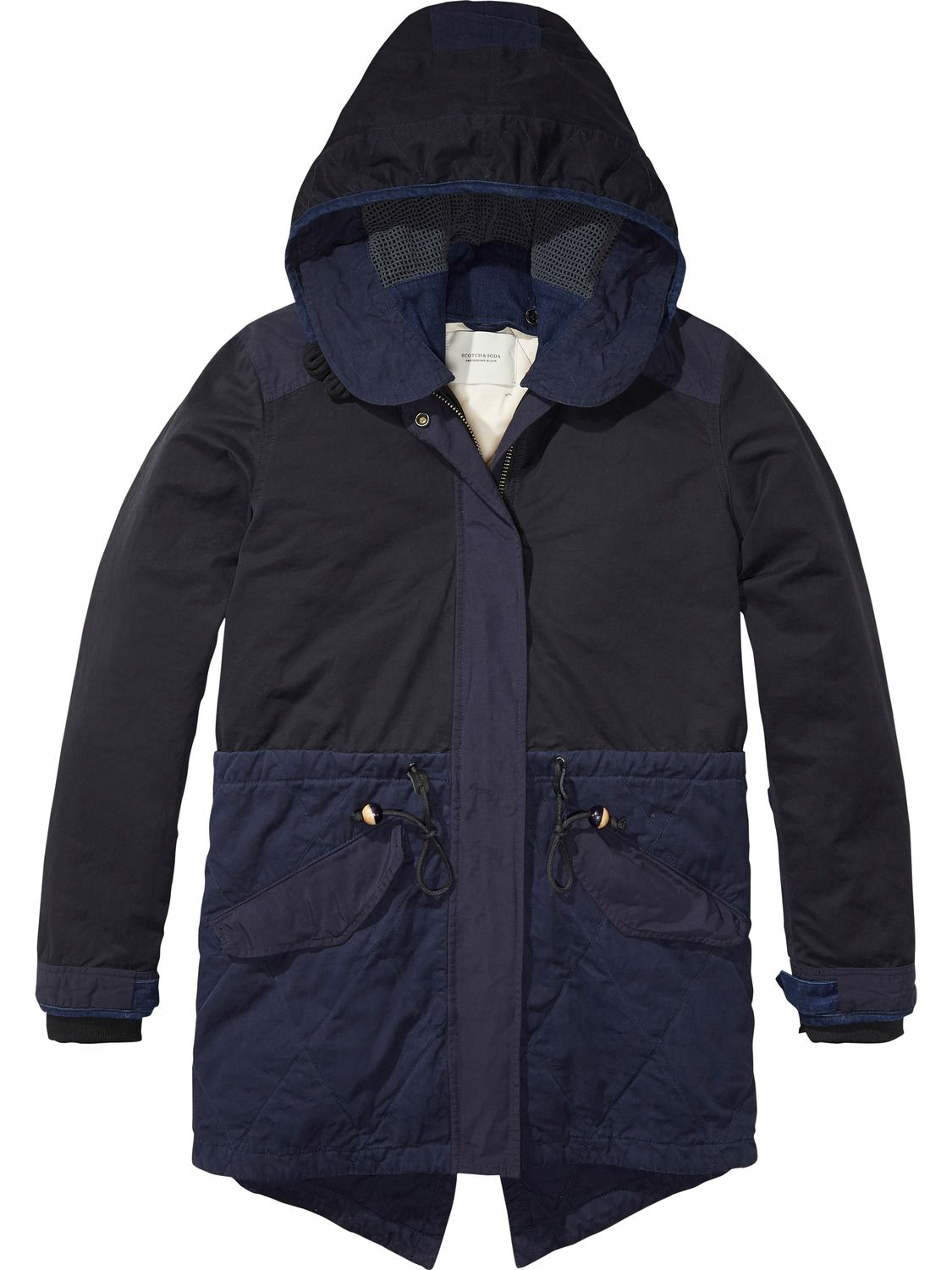 Scotch and soda parka heren