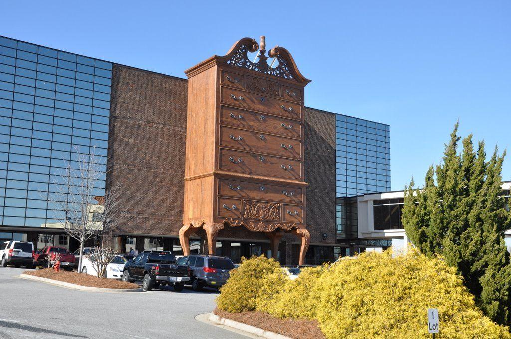 Furniture manufacturer headquarters unusual buildings