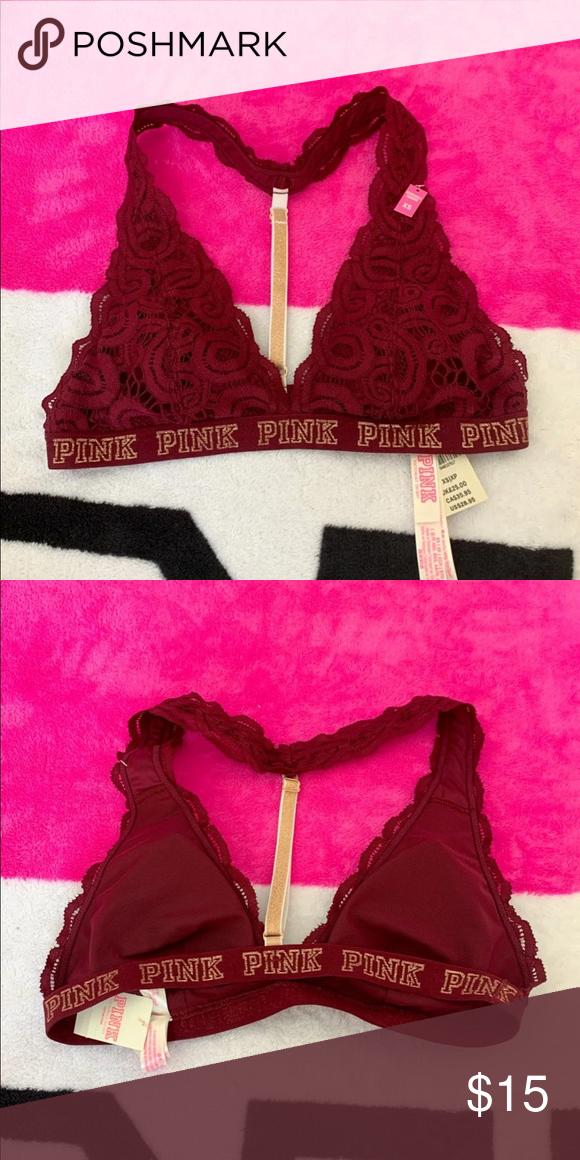 1193703f65 PINK bralette xs NEW Brand new pink bling bra size xs lightly padded PINK  Victoria s Secret Intimates   Sleepwear Bras