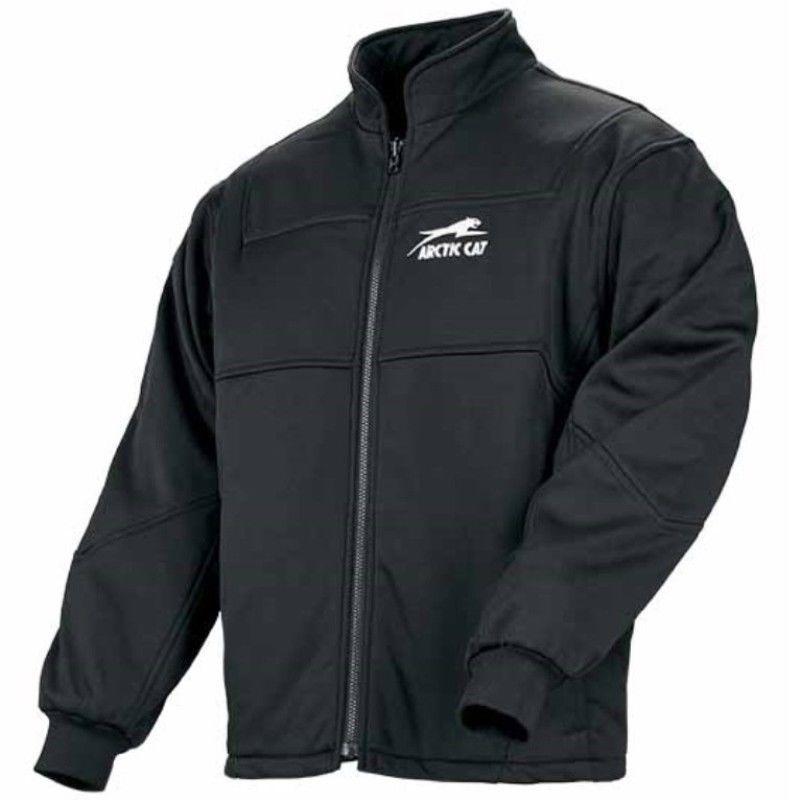 e6b2f5e111d Arctic Cat Women s Black Flex Softshell Zip-Out Jacket Coat Liner - 5220-95
