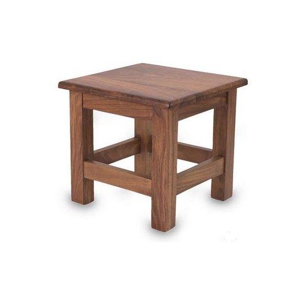 Novica Unique Contemporary Parota Wood End Table 120 Liked