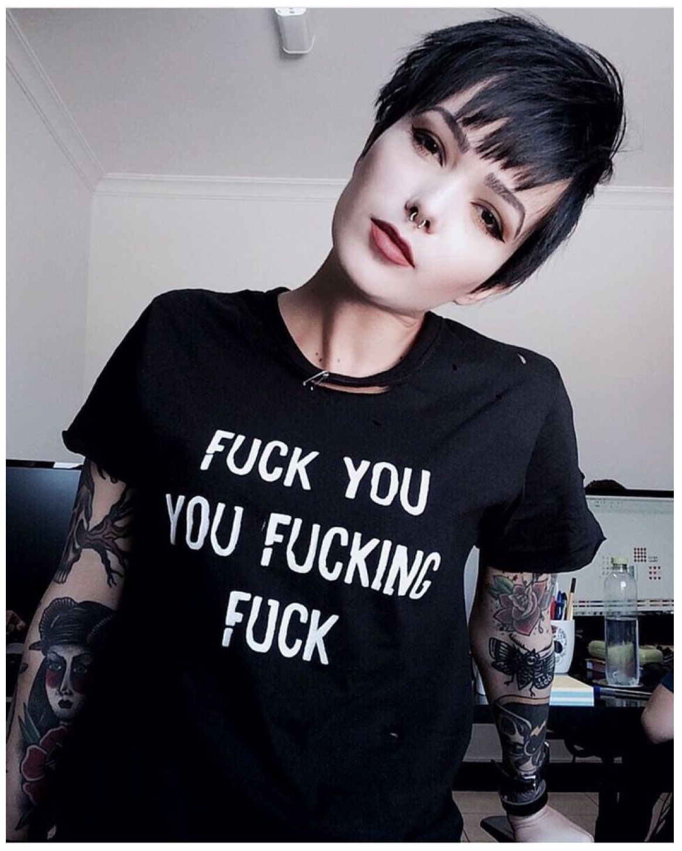 Lesbian goths comments