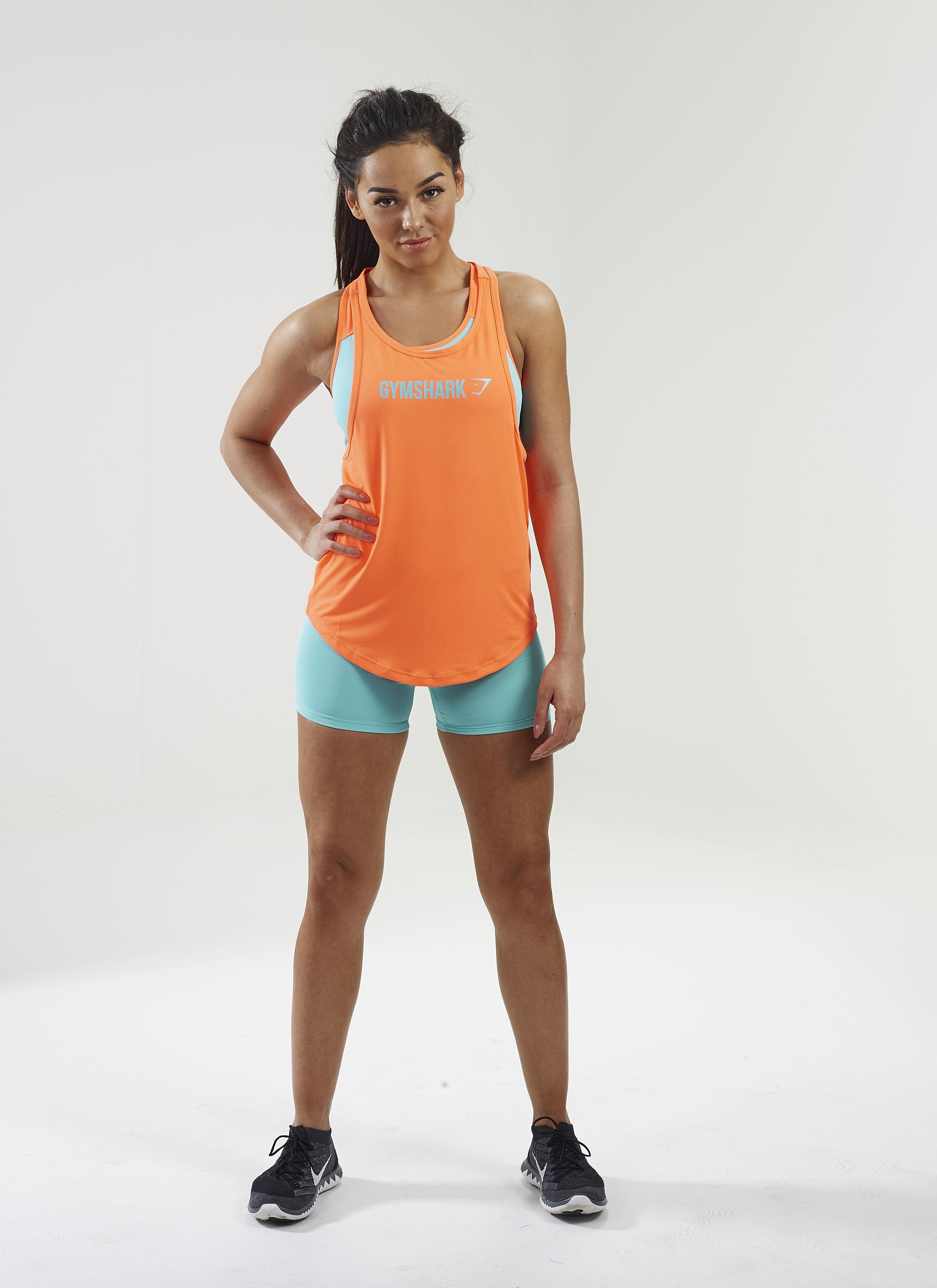 Gymshark Move Racerback Vest. Order yours > https://www.gymshark.com/collections/t-shirts-tops/womensGymshark