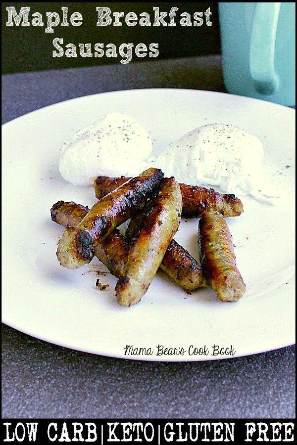 Maple Breakfast Sausages