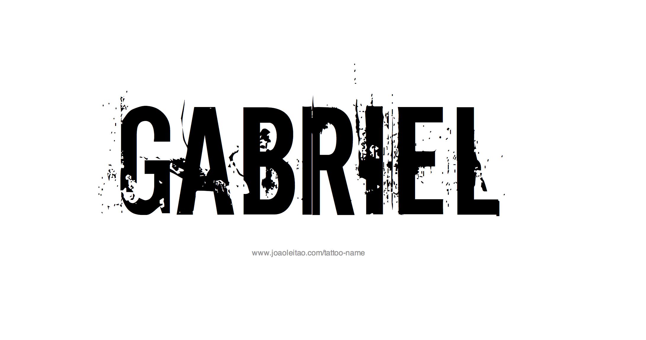Gabriel Name Tattoo Designs Name Tattoo Designs Tattoo Designs Name Tattoos