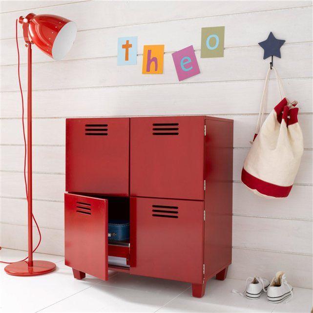 commode 4 portes hiba d co chambre enfants pinterest. Black Bedroom Furniture Sets. Home Design Ideas
