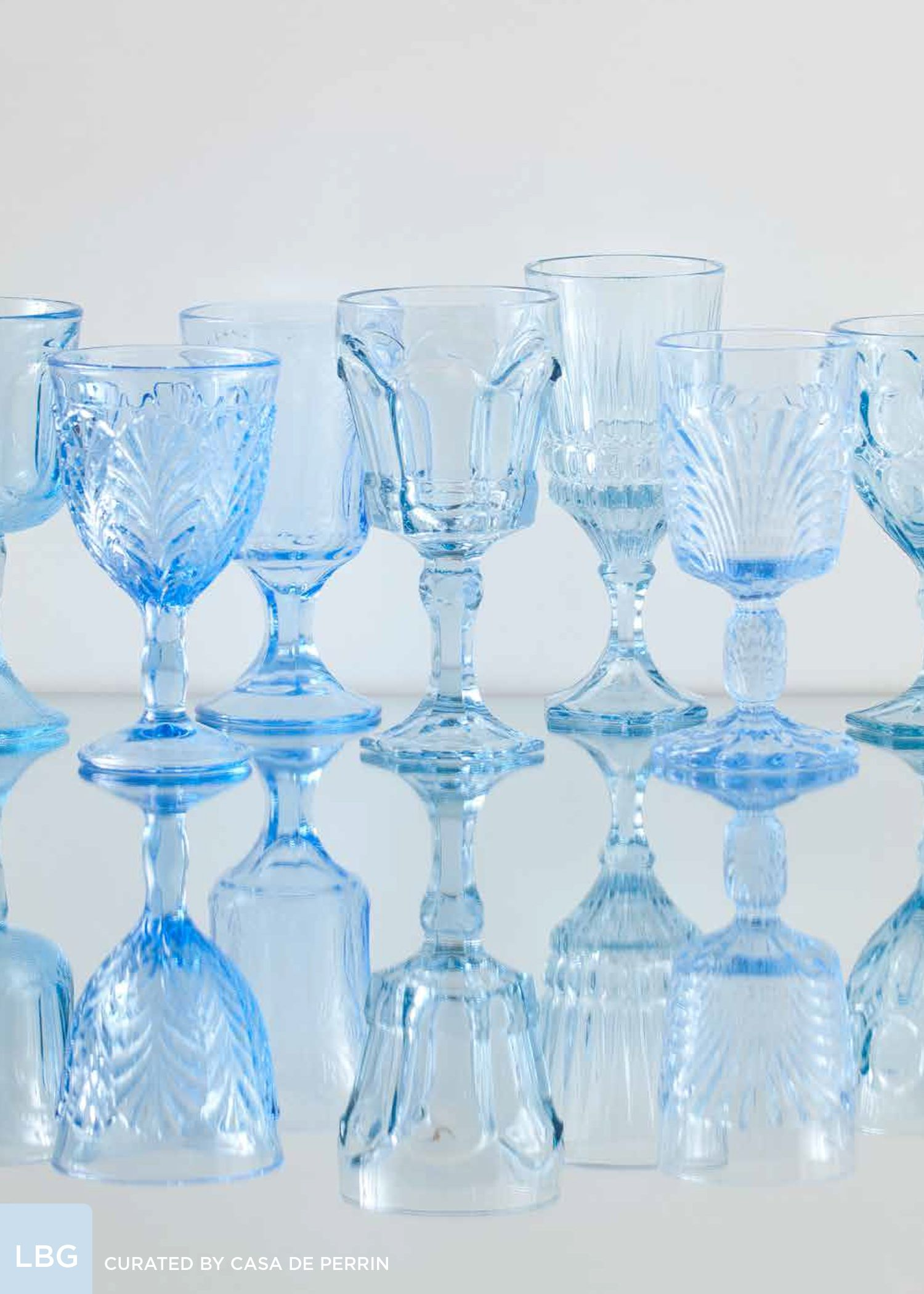 c279d77cc14 Light Blue Goblets // Casa de Perrin | #mrkateinspo | ENTERTAINING ...