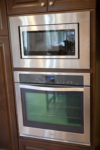 whirlpool gold series stainless steel finish microwave plus single oven combo this built in 30. Black Bedroom Furniture Sets. Home Design Ideas