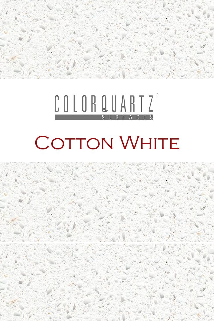 Cotton White By Color Quartz Is Perfect For A Kitchen Quartz Countertop I Quartz Kitchen Countertops White