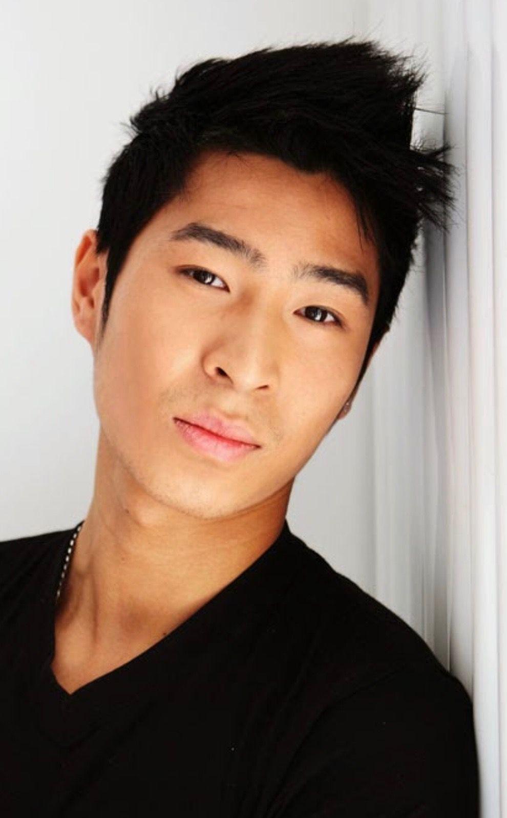 Chris Pang Gorgeous Eyes Pretty Men Dark Brown Eyes