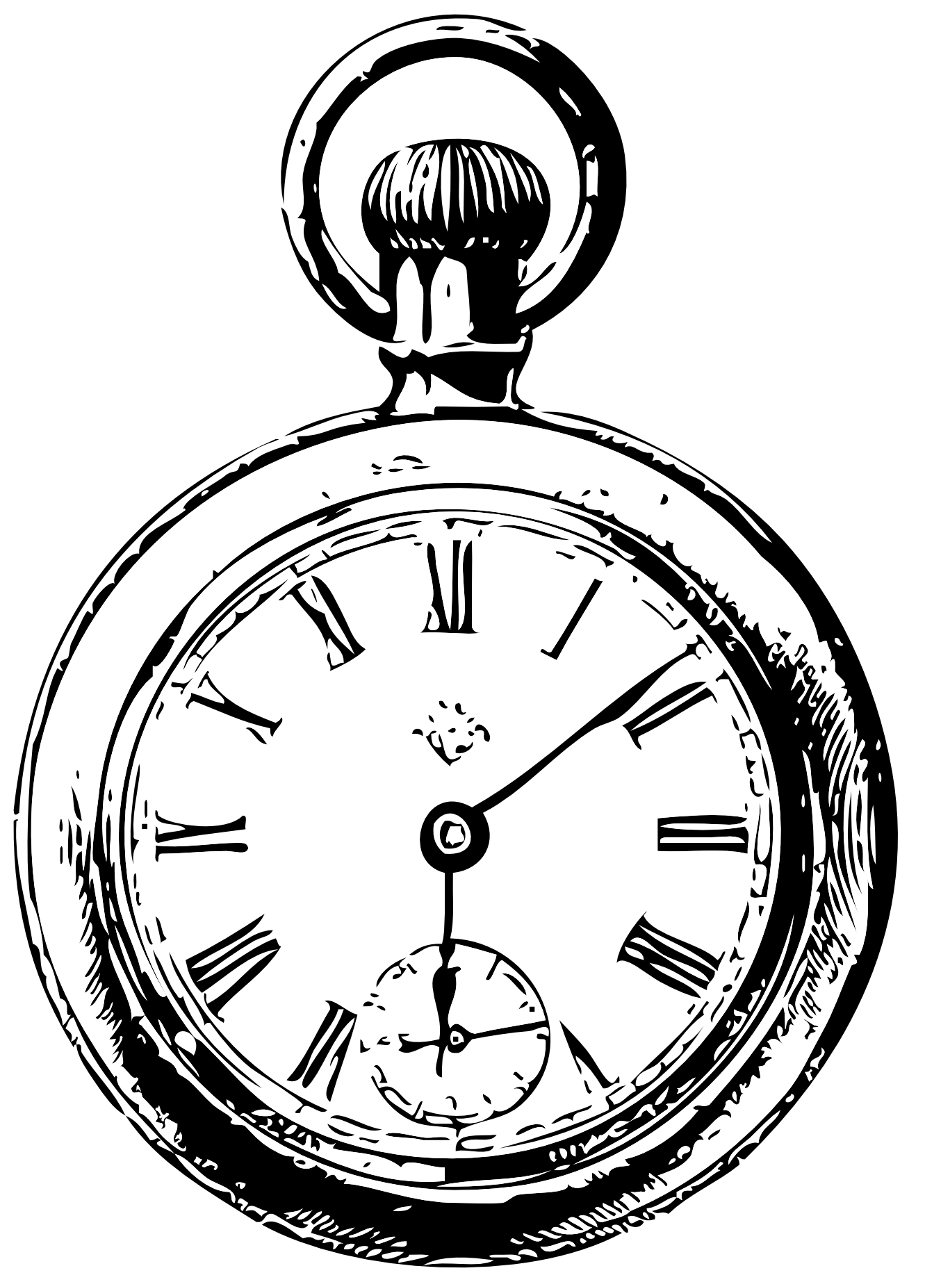 clipart of watches and clocks - photo #13