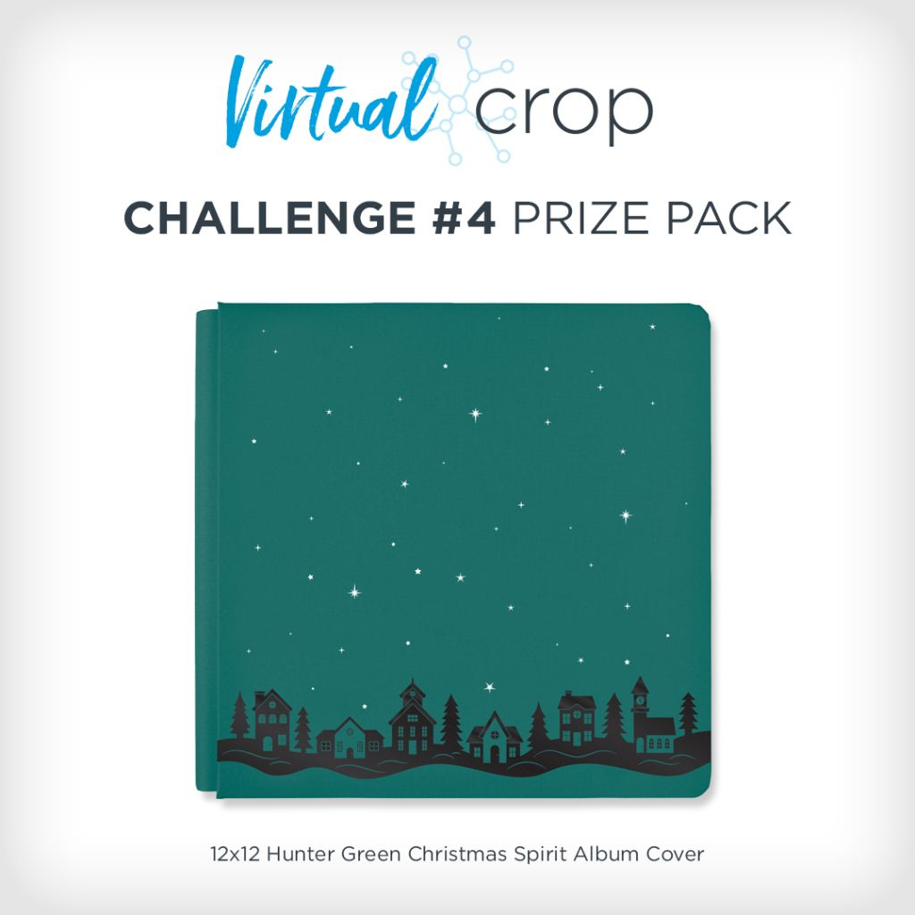 Win a Christmas Spirit Album Cover: Virtual Crop Challenge #4