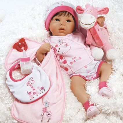 This little baby is so cute and cuddly. Hugging one of these dolls is a nice way to relieve stress!