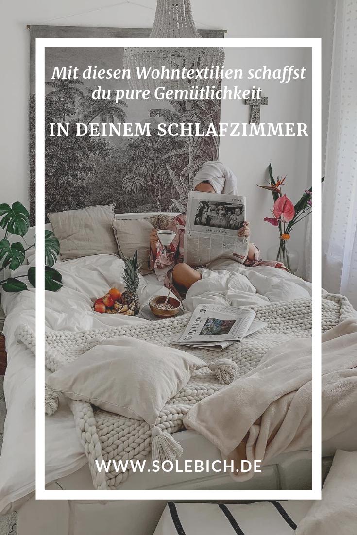 Die Schonsten Wohntextilien Schlafzimmer Schlafen Wohnen