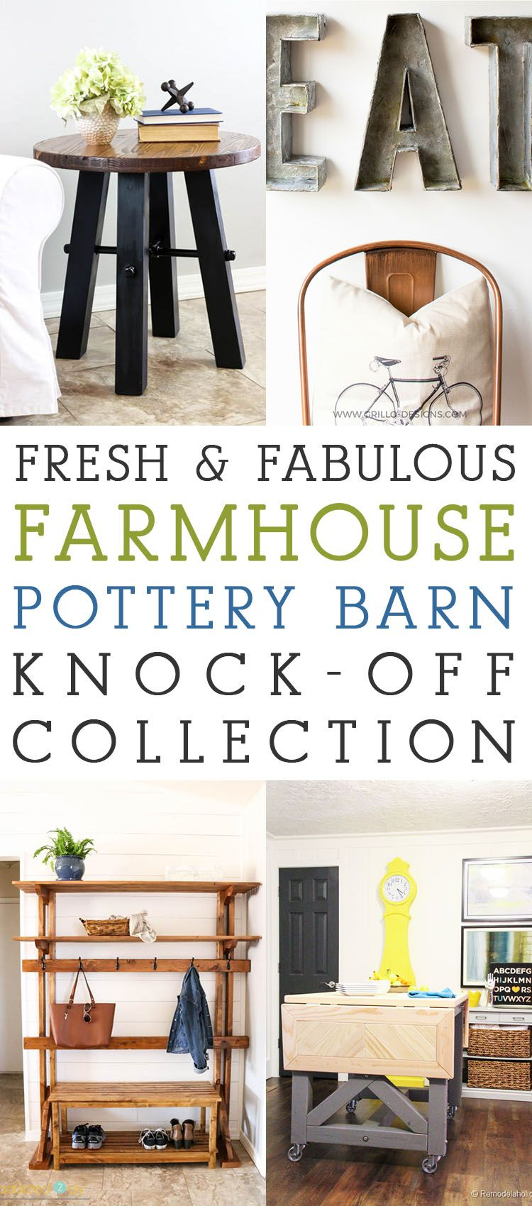 Fresh and Fabulous Farmhouse Pottery Barn KnockOff