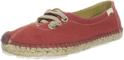 Camper Women`s 21546-003 Espadrille,Red,39 EU/9 M US ( I would totally wear them everyday)
