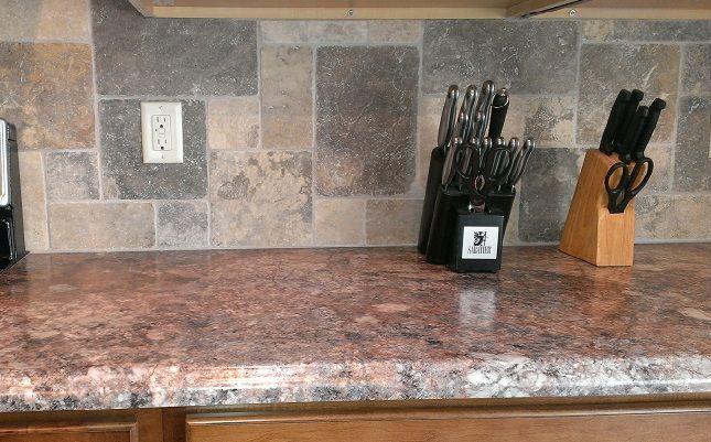 Antique Mascarello Formica Dal Tile Backsplash Kitchen Decor