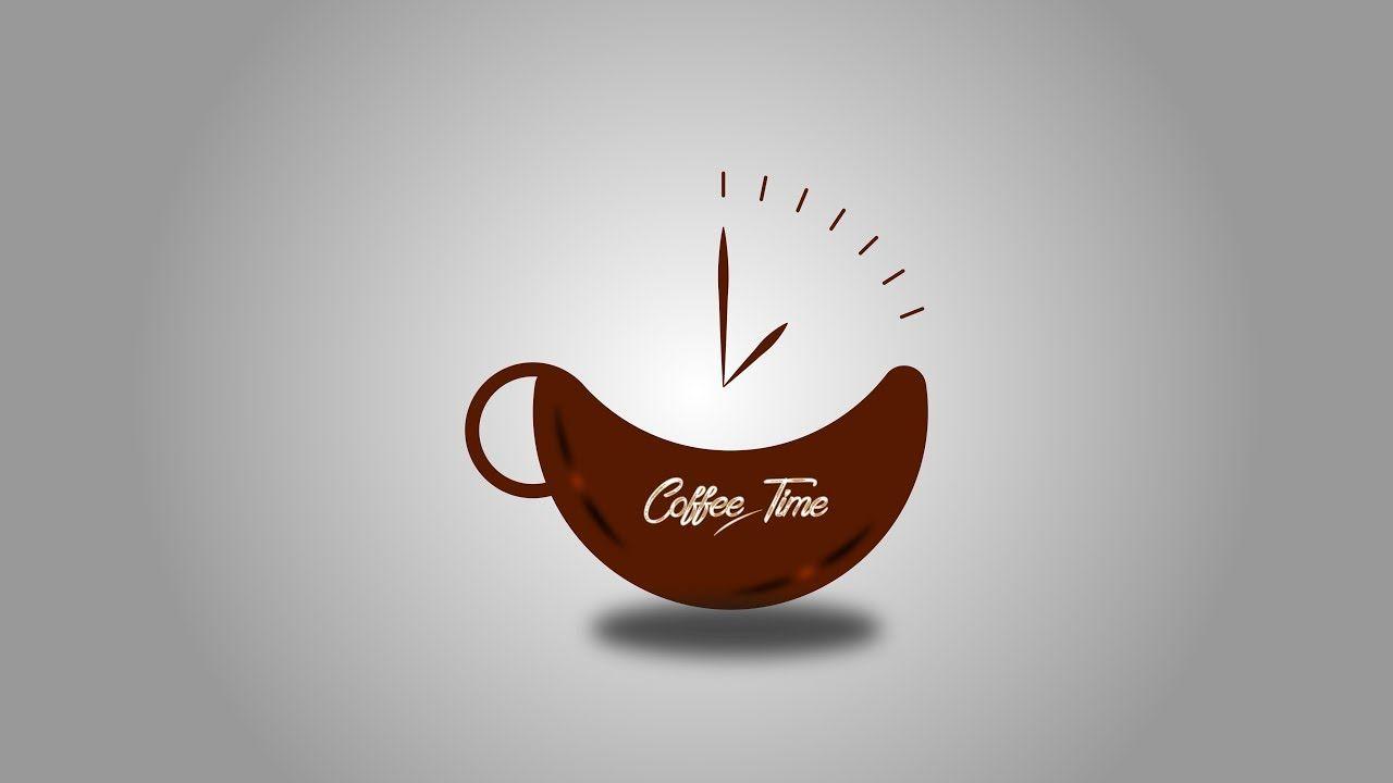 Coffee Cup Logo Design Tutorial Adobe Illustrator Cc 2017 By