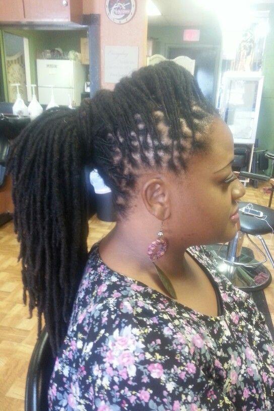 Pony Locs Locs Hairstyles Dreadlock Styles Black Natural Hairstyles