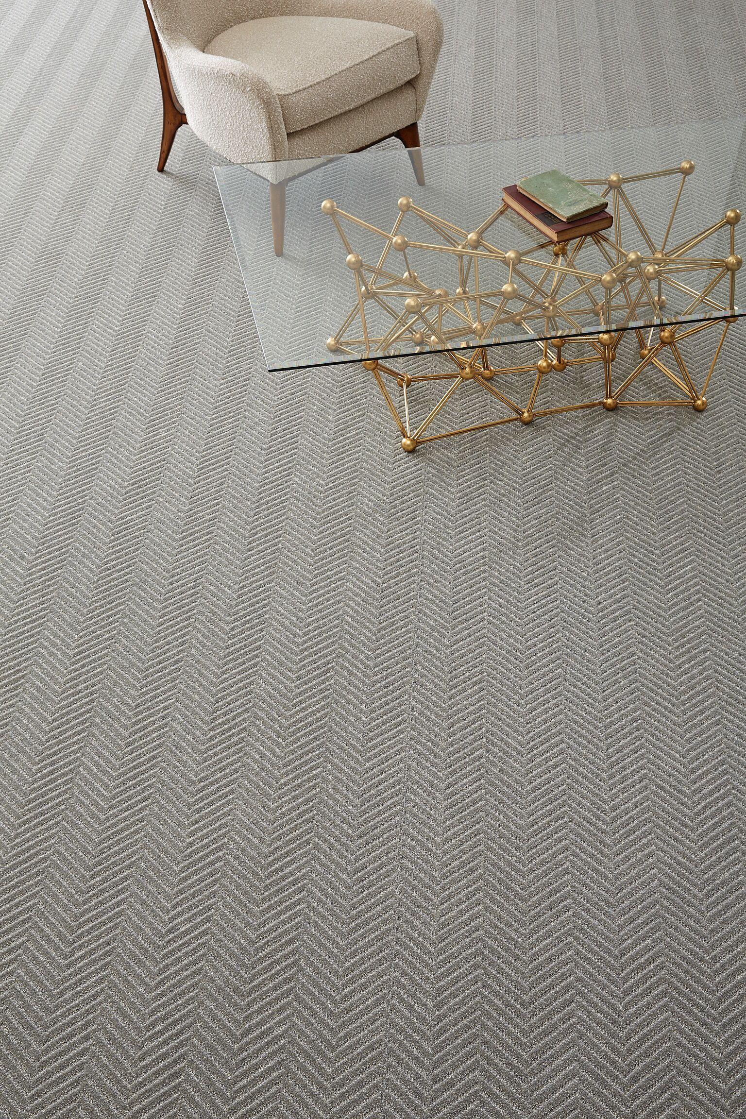 Hallway stair carpet ideas  Timeless large scale herringbone carpet totallycarpet  Guildford